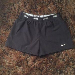 Nike black workout shorts